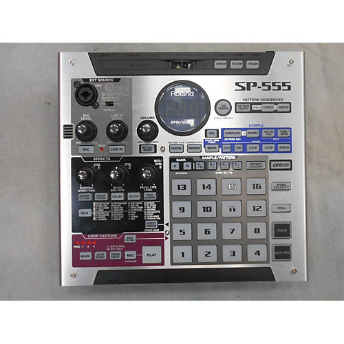 Roland SP555 SAMPLER Production Controller-thumbnail