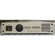 Crate SPA100 Power Amplifier Power Amp