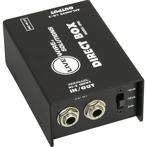 how to build a di box