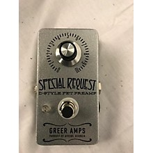 Greer Amplification SPECIAL REQUEST Pedal