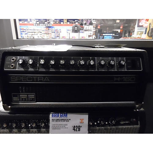 In Store Used SPECTRA H-160 Tube Guitar Amp Head-thumbnail