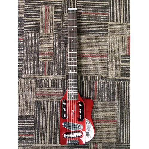 Traveler Guitar SPEEDSTER Red Electric Guitar-thumbnail