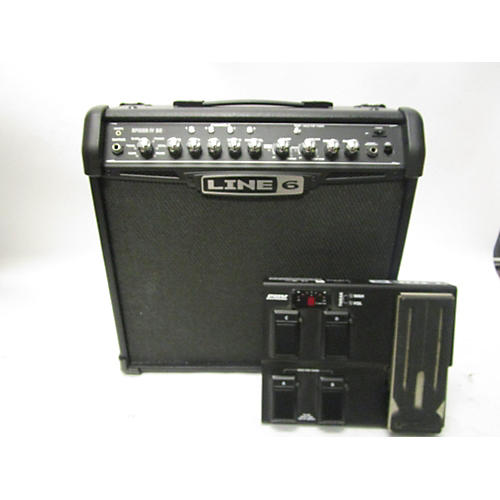 used line 6 spider iv 30 guitar combo amp guitar center. Black Bedroom Furniture Sets. Home Design Ideas