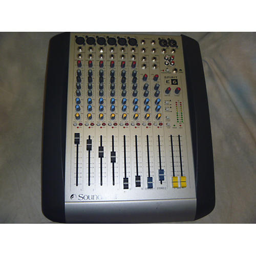Soundcraft SPIRIT E6 Unpowered Mixer-thumbnail