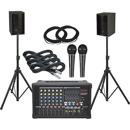 Nady SPM-6300/Yamaha AS108II PA Package-thumbnail