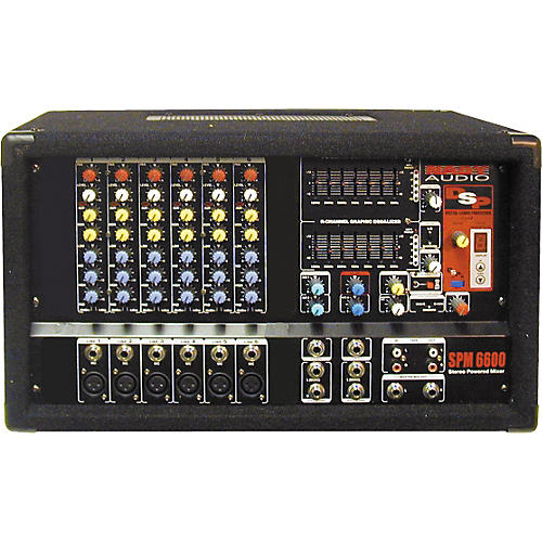 Nady SPM-6600 6-Channel Powered Mixer-thumbnail