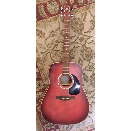 Art & Lutherie SPRUCE BURGUNDY Acoustic Guitar-thumbnail