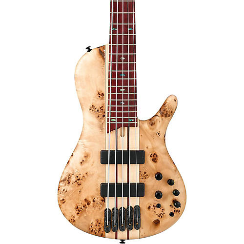 Ibanez SR Standard Series SR805 5-String Electric Bass Natural Flat-thumbnail