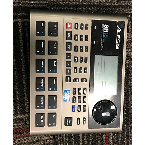 Alesis SR18 Drum Machine-thumbnail
