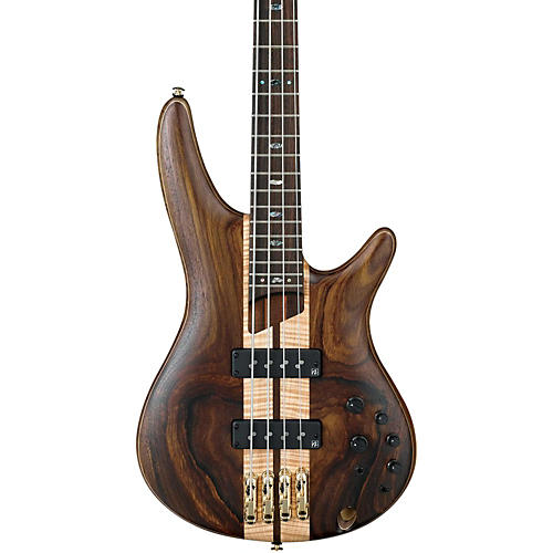 Ibanez SR1800E Premium 4-String Electric Bass Flat Natural Rosewood fretboard