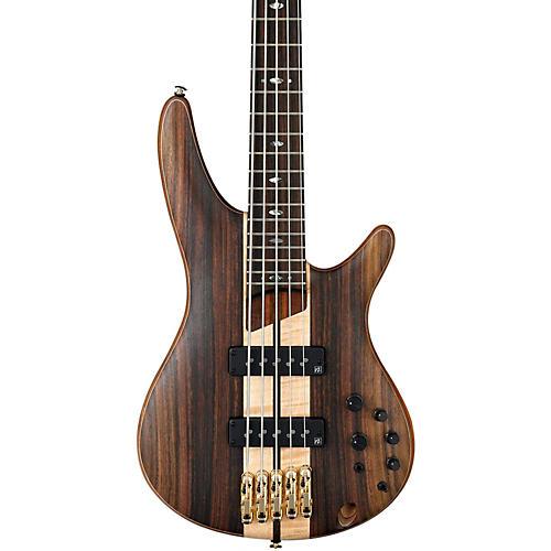 Ibanez SR1805E Premium 5-String Electric Bass Flat Natural Rosewood fretboard