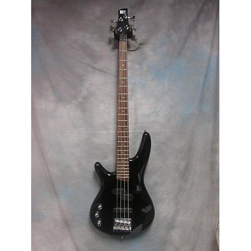 used ibanez sr300 left handed electric bass guitar iron pewter guitar center. Black Bedroom Furniture Sets. Home Design Ideas