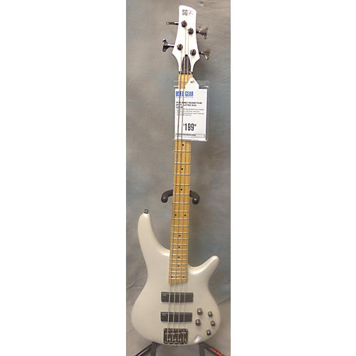 Ibanez SR300M Pearl White Electric Bass Guitar