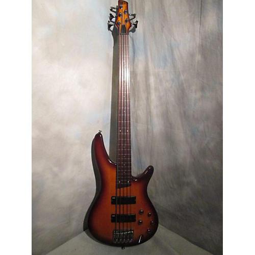 Ibanez SR375F 5 String Electric Bass Guitar-thumbnail