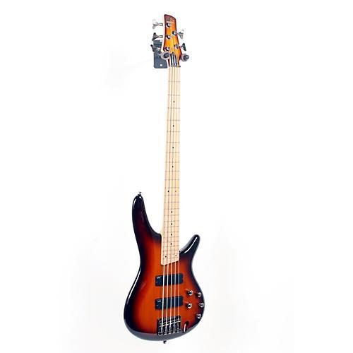 Ibanez SR375MBBT 5-String Electric Bass Guitar Brown Burst 888365409009