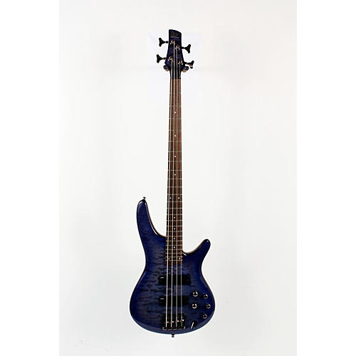 Ibanez SR400QM Soundgear Electric Bass Transparent Lavender Burst 888365117980