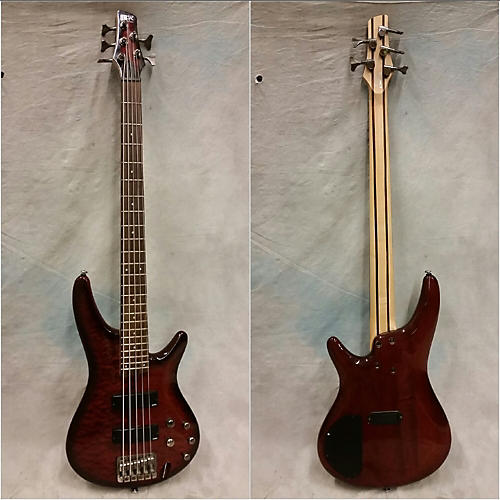 Ibanez SR405 5 String Electric Bass Guitar-thumbnail