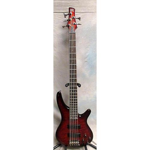 Ibanez SR405QM 5 String Electric Bass Guitar-thumbnail