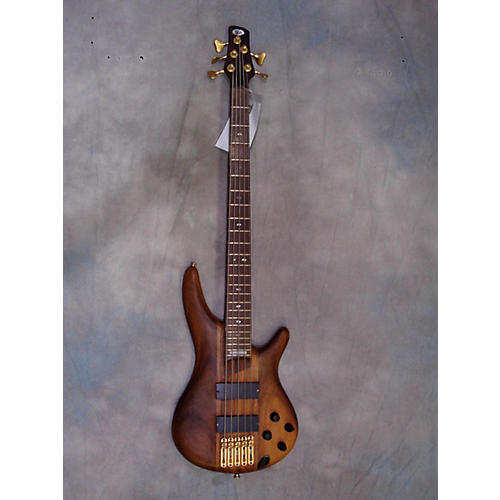 Ibanez SR5000 Electric Bass Guitar Walnut