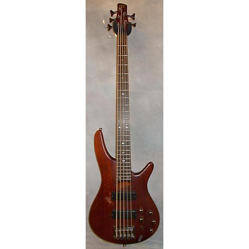Ibanez SR505 5 String Mahogany Electric Bass Guitar-thumbnail
