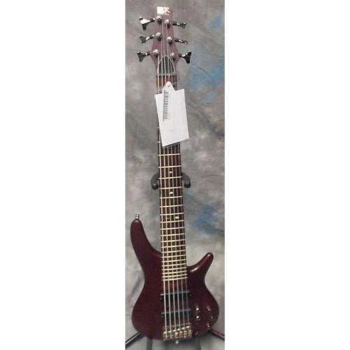 Ibanez SR506 6 String BROWN MAH Electric Bass Guitar-thumbnail