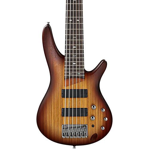 Ibanez SR506ZW 6-String Bass Flat Brown Burst