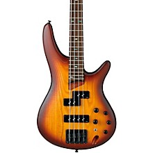 SR650 4-String Electric Bass Guitar Flat Brown Burst