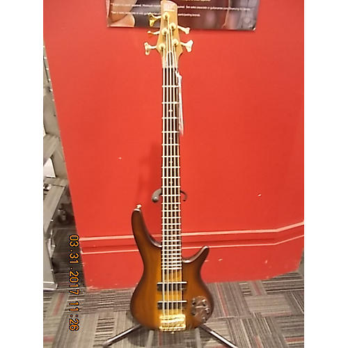 Ibanez SR755 5 String Electric Bass Guitar-thumbnail