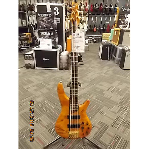 Ibanez SR805 5 String Electric Bass Guitar-thumbnail