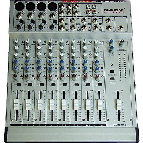 Nady SRM-12X 12-Input Stereo Mixer