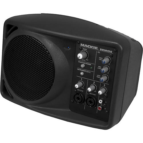 Mackie SRM150 Active Speaker (Black)-thumbnail
