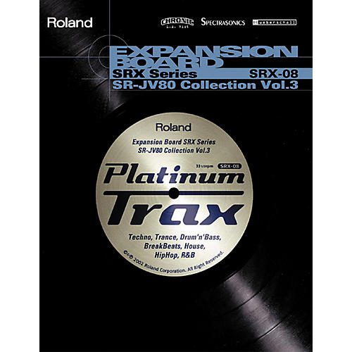 Roland SRX-08 Platinum Trax Expansion Board-thumbnail