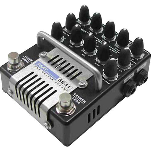 AMT Electronics SS-11 3-Channel Dual Tube Guitar Preamp