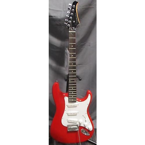 Silvertone SS 11-R Solid Body Electric Guitar-thumbnail