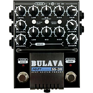 AMT Electronics SS-30 BULAVA 3-Channel Guitar Preamp by AMT Electronics