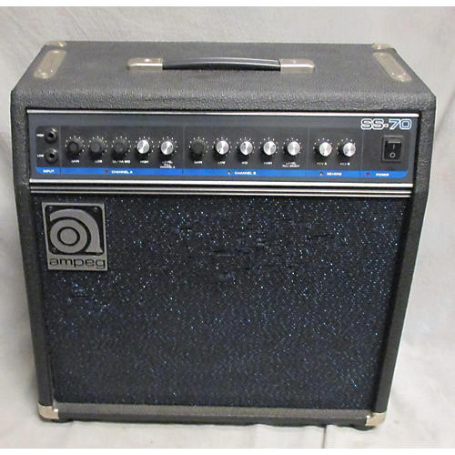 used ampeg ss70 1x12 guitar combo amp guitar center. Black Bedroom Furniture Sets. Home Design Ideas