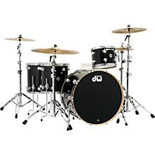 "DW SSC Collector's Series 4-Piece Finish Ply Shell Pack w/24"" Bass Drum with Satin Chrome Hardware"