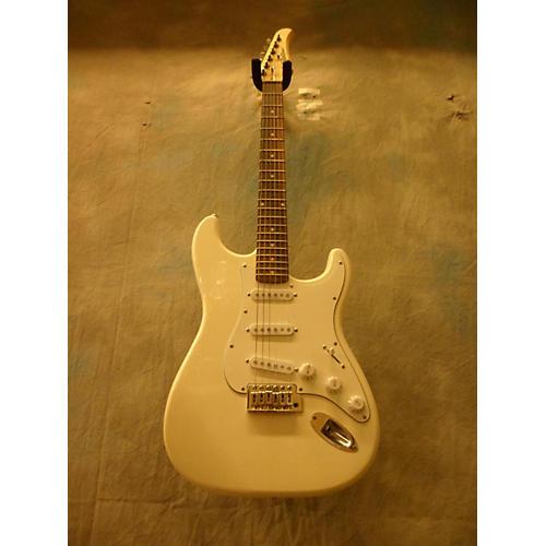 Silvertone SSI15W Solid Body Electric Guitar