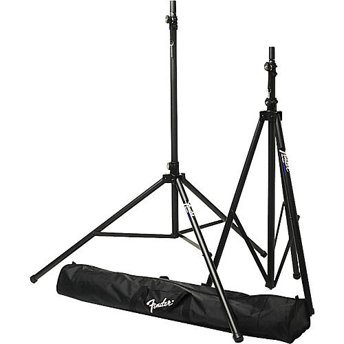 Fender ST-275 Tripod Speaker Stand Set with Carrying Bag-thumbnail