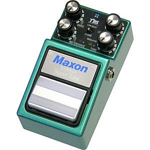 Maxon ST-9 Super Tube Pro Plus Distortion Guitar Effects Pedal from Nine Se...