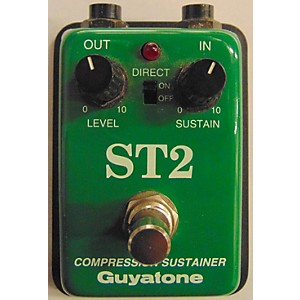 Pre-owned Guyatone ST2 Compression Sustainer Effect Pedal by Guyatone