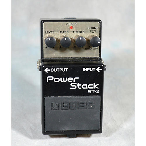 Boss ST2 Power Stack Overdrive Effect Pedal-thumbnail