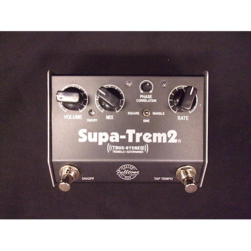 Fulltone ST2 Supa Trem Stereo Tremolo Effect Pedal