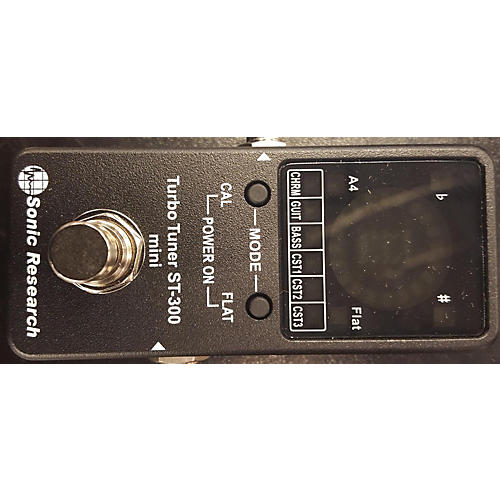 In Store Used ST300 Tuner Pedal-thumbnail