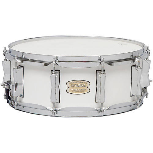 Yamaha STAGE SBS 1455CR CUSTOM BIRCH SNARE 14X5 5 IN CRANBERRY RED-thumbnail