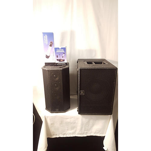 used carvin stagemate pa system sound package guitar center. Black Bedroom Furniture Sets. Home Design Ideas