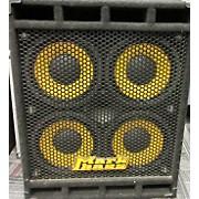Markbass STD104HF 4X10 FRONT-PORTED W/HORN Bass Cabinet