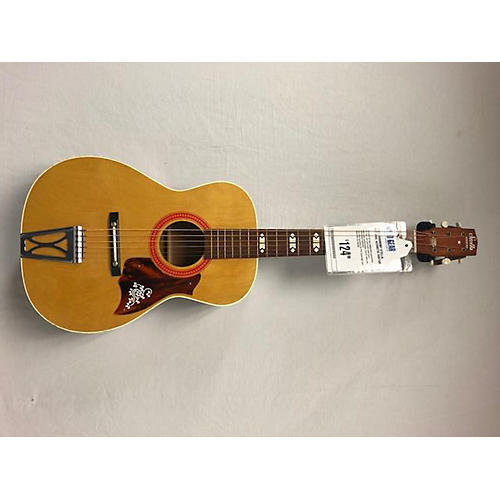 used harmony stella acoustic guitar natural guitar center. Black Bedroom Furniture Sets. Home Design Ideas