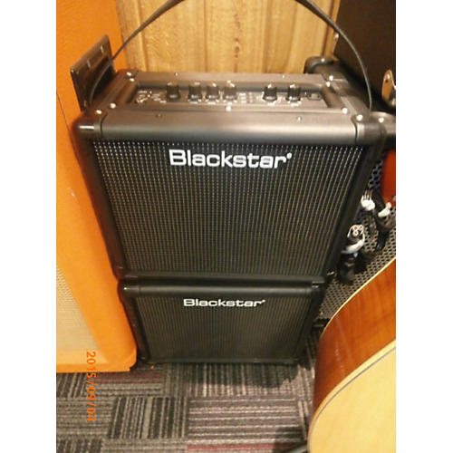 used blackstar stereo 10 id core battery powered amp guitar center. Black Bedroom Furniture Sets. Home Design Ideas