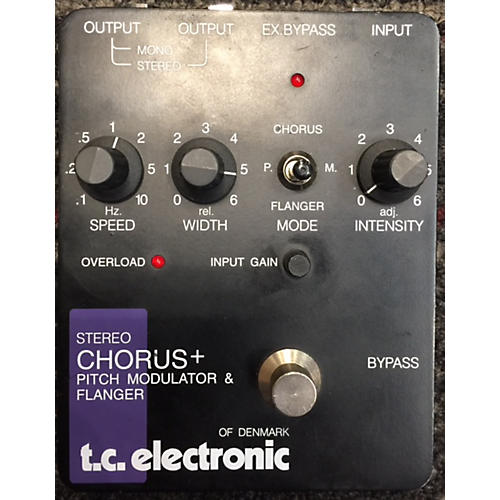 TC Electronic STEREO CHORUS & EFFECT PEDAL Effect Pedal